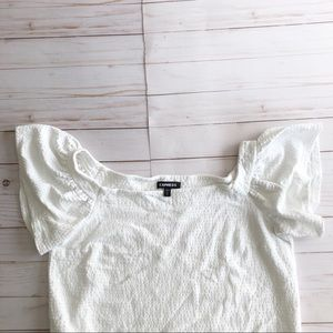 Express Square Neck Tee